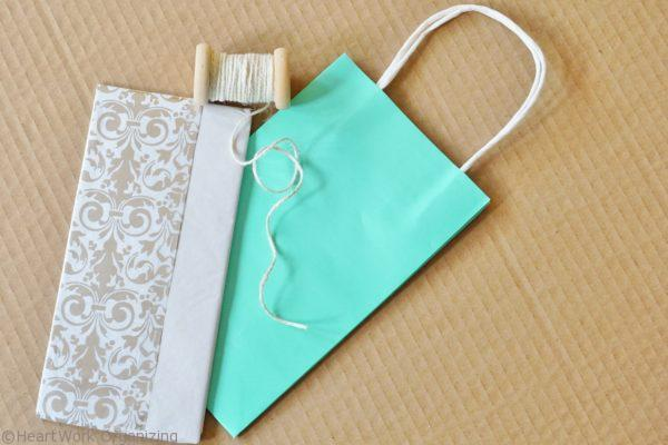 wrapping for photo gifts for hostess gift