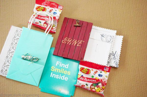how to pack a hostess gift