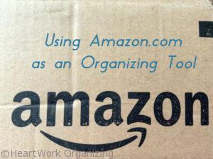 Read more about the article Using Amazon.com as an Organizing Tool