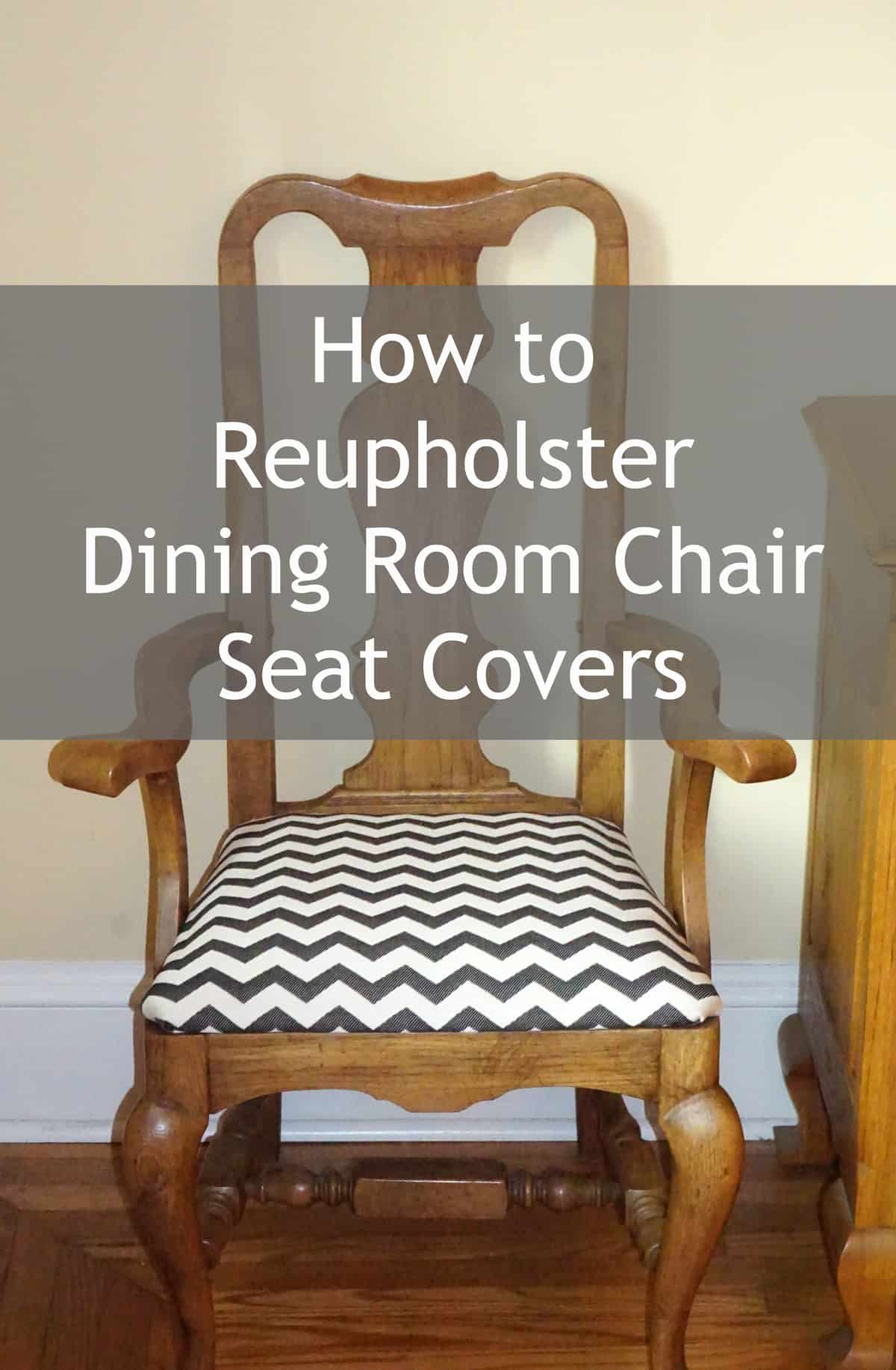 how to reuphoster dining room chair seat covers - Reupholstered Dining Room Chairs