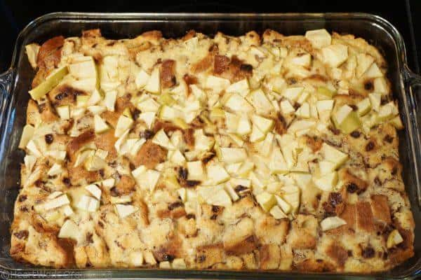 breakfast casserole with apple