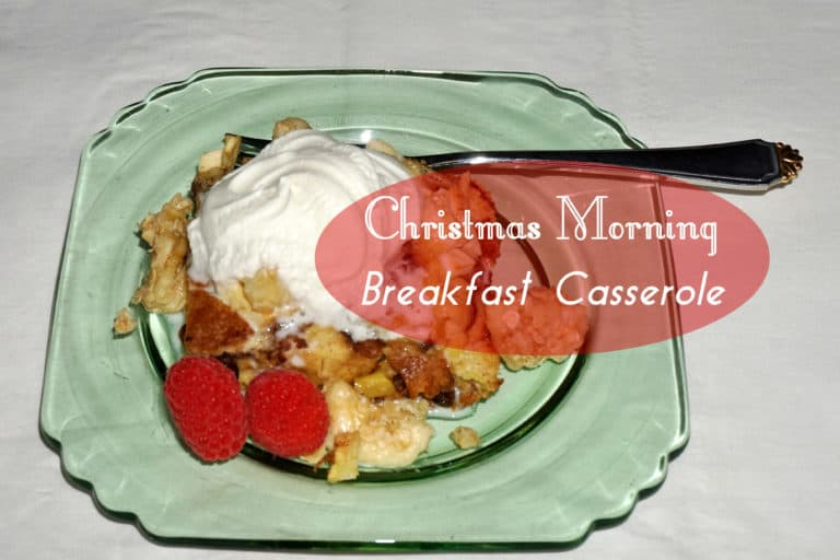 Read more about the article Christmas Morning Breakfast Casserole