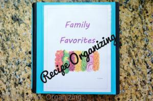 Read more about the article Recipe Organizing For Family Favorites (and a Free Printable)