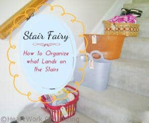 """Read more about the article """"Stair Fairy"""": How to Organize what Lands on the Stairs"""
