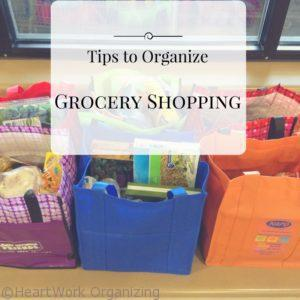 Read more about the article Tips to Organize Grocery Shopping
