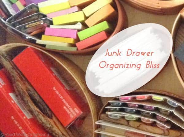 junk drawer organizing bliss