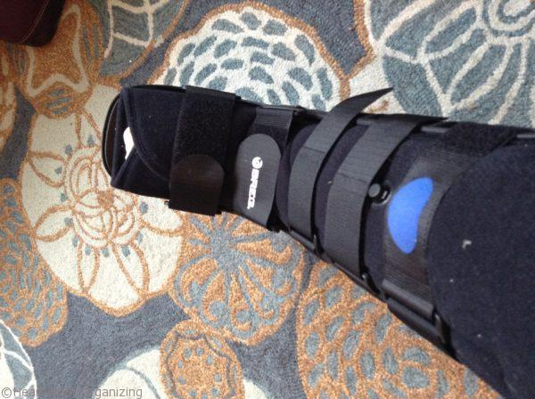 post-op boot for bunionectomy