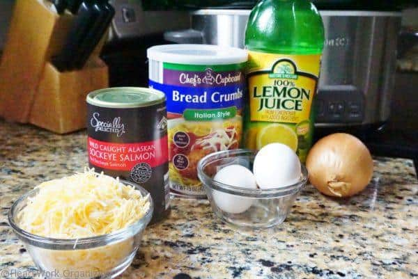 ingredients for salmon cheese casserole slow cooker meal