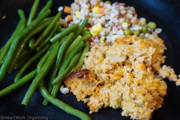 salmon cheese casserole slow cooker dinner