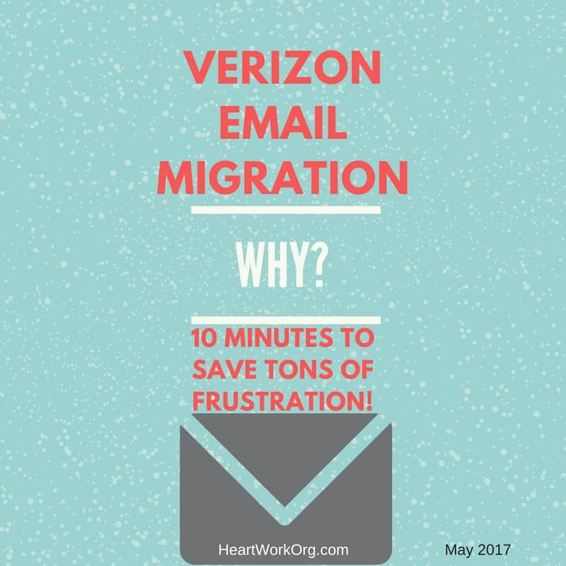 help for Verizon email users