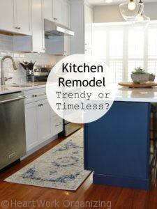 Read more about the article Kitchen Remodel: Trendy or Timeless?