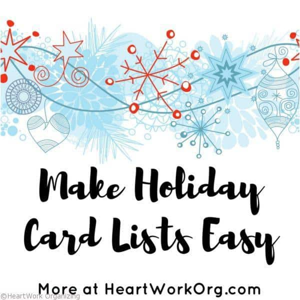 how to make christmas card address labels digitally