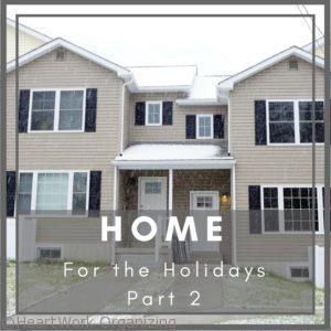 Read more about the article Home for the Holidays with Habitat for Humanity, Part 2, Terria's Big Day