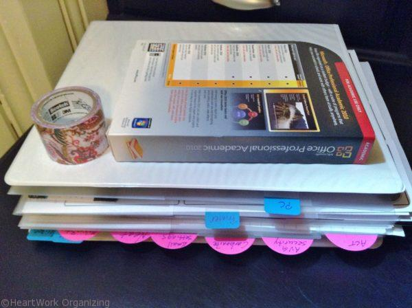 How to Organize a Computer and Software Binder