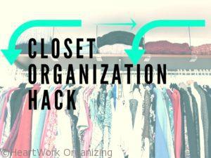 Read more about the article Closet Organization Hack