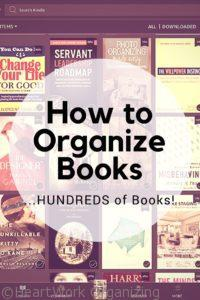 Read more about the article How to Organize Books…HUNDREDS of Books!
