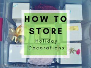 Read more about the article How to Store Holiday Decorations