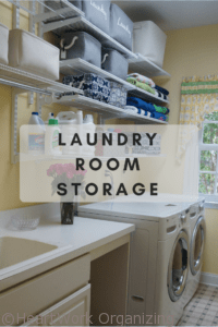 Read more about the article Laundry Room Storage- Organizing Your Home