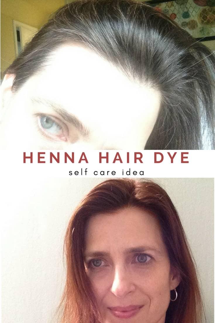 Self-Care Ideas: Henna Hair Dye