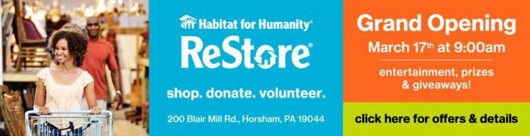Read more about the article Habitat for Humanity ReStore Now Open in Horsham, PA