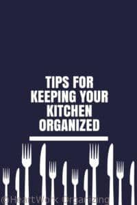 Read more about the article Tips for Keeping your Kitchen Organized