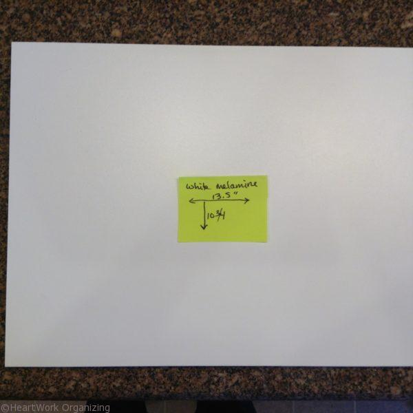 organizing kitchen cabinet