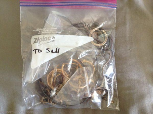 Jewelry organizing to sell