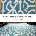 My New Family Room Carpet FLOR Tiles