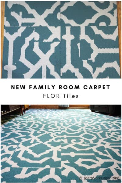 New Family Room Carpet FLOR Tiles