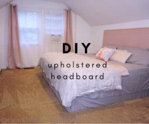 Read more about the article DIY Upholstered Headboard