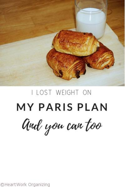 I lost weight on My Paris Plan And You Can Too