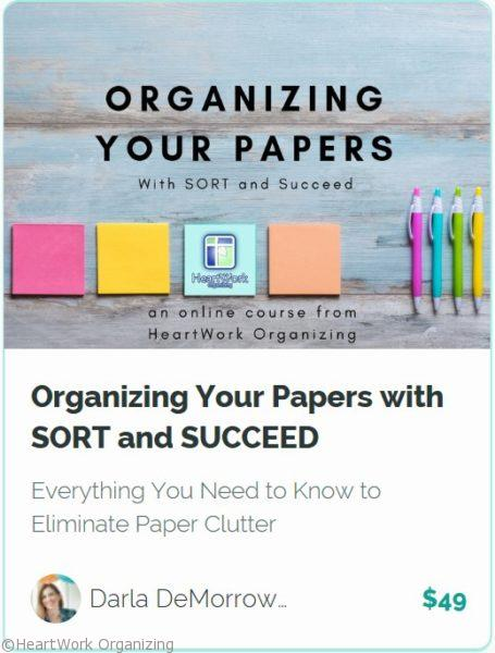 Organizing Your Paper online course