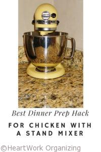 Read more about the article Best Dinner Prep Hack for Chicken with a Stand Mixer