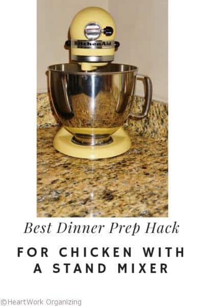 Best Dinner Prep Hack for Chicken with a Stand Mixer