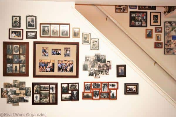hanging art and gallery wall design