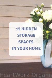 Read more about the article 15 Hidden Storage Spaces in Your Home