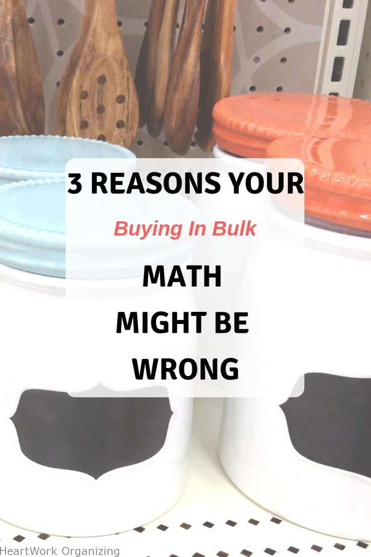 Read more about the article 3 Reasons Your (Buying in Bulk) Math Might Be Wrong