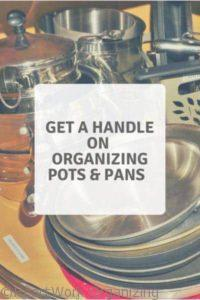 Read more about the article Get a Handle on Organizing Pots and Pans