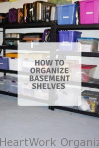 Read more about the article Basements and clutter and bins, oh my!