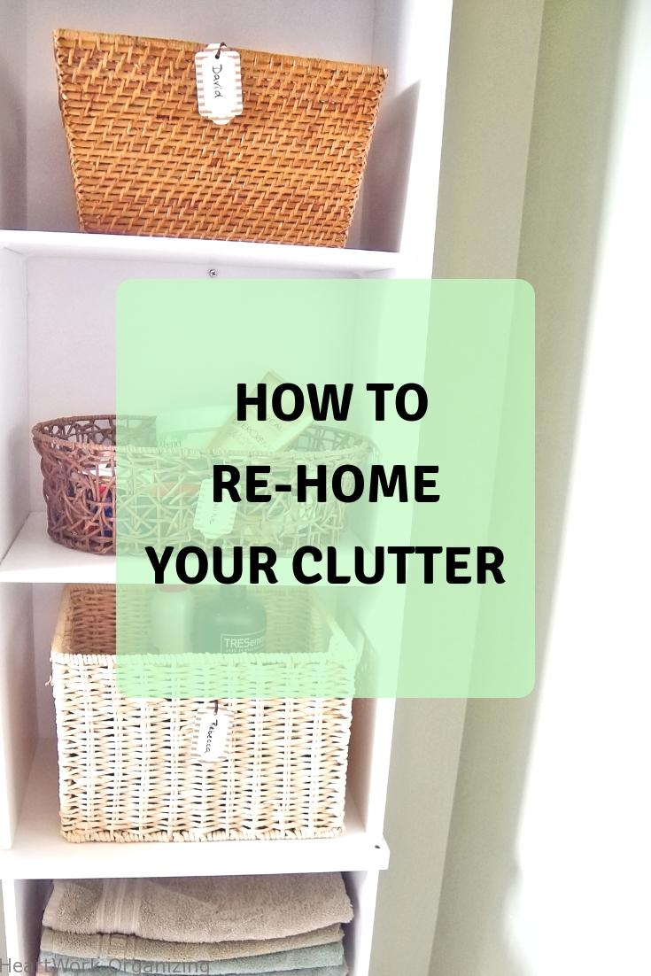 Read more about the article How to Re-Home Your Clutter