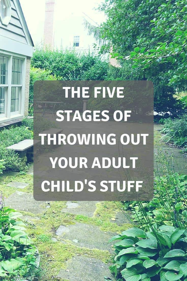 Read more about the article The Five Stages of Throwing Out Your Adult Child's Stuff