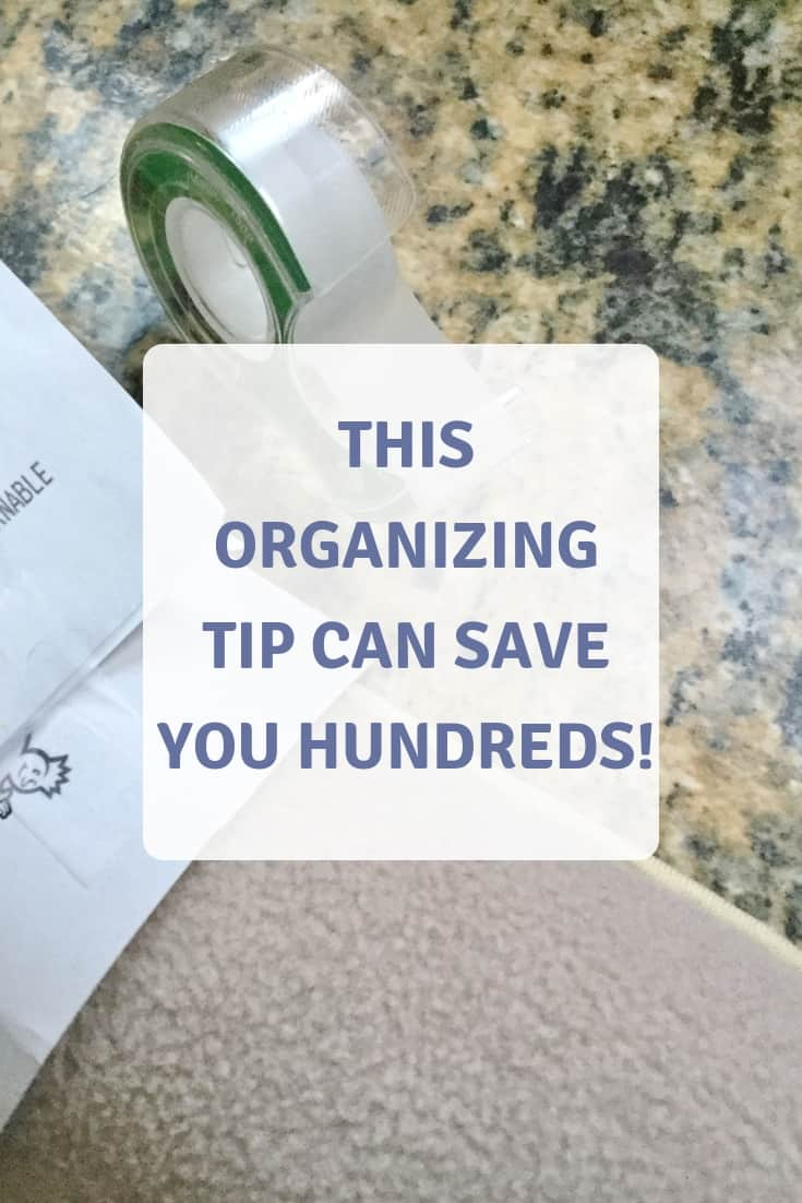 Read more about the article This Organizing Tip Can Save You Hundreds!