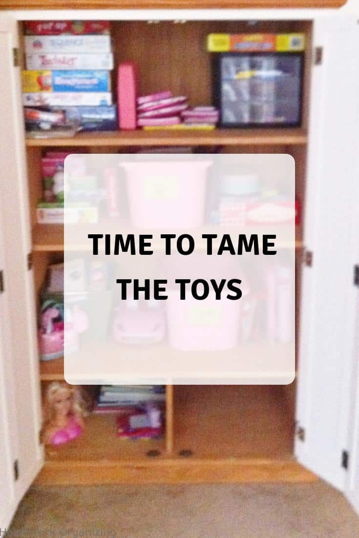 Read more about the article Time to Tame the Toys