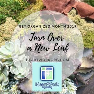Turn Over a New Leaf GO month 2019