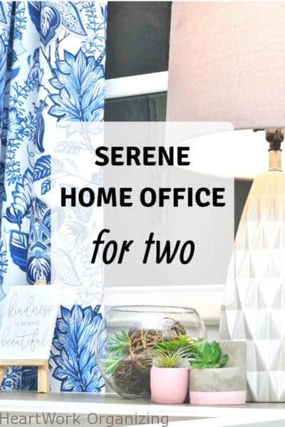 Serene Home Office For Two