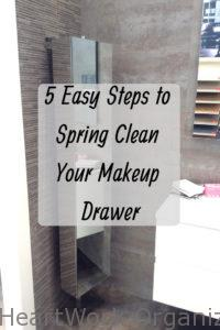 Read more about the article Five Easy Steps to Spring Clean Your Makeup Drawer