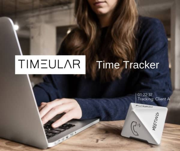 Timeular Time Tracker