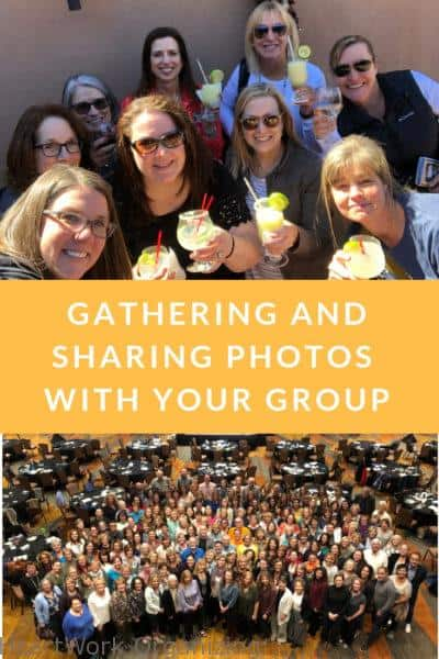 Gathering and Sharing Photos with a Group