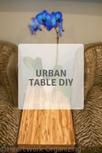 Read more about the article Urban Table DIY