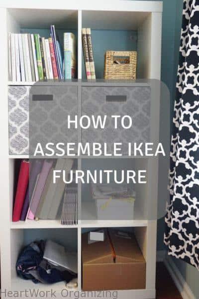 How To Emble Ikea Furniture